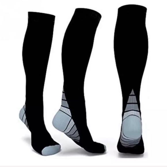 b29ed88595 Underwear & Socks | Brand New Compression Socks Black Gray Lxl ...
